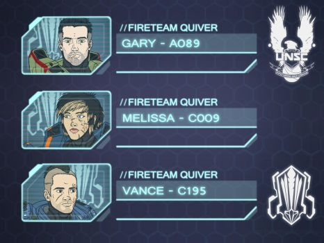Halo Ammunition: Fire Team QUIVER HUD Icons by Guyver89