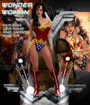 Wonder Woman custom morph and costume for V4 by Terrymcg