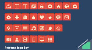 Pristina Icon Set by GreenToadMX