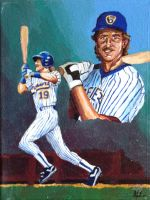 Robin Yount by EricAndersonCreative