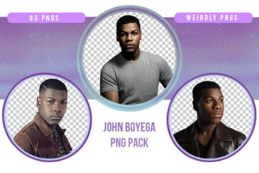 John Boyega PNG Pack by Weirdly-PNGS