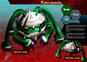 Ferrosabia- Ferrothorn fan evolution concept