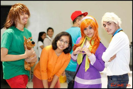 Scooby Doo- Mystery Inc by JoviClaire