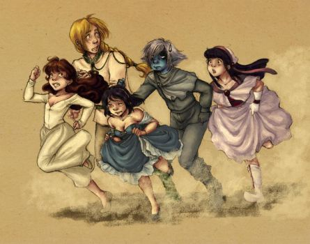 Slayers - Wreaking Havoc by rally-ae