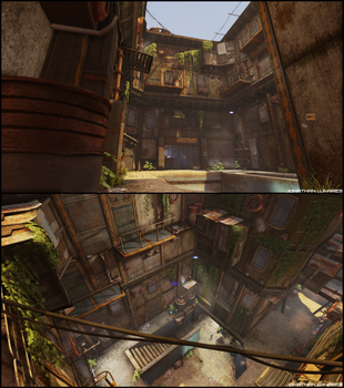 Hive city alley - 01 by CougarJo