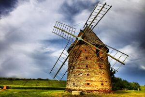 Windmill by NumericArt