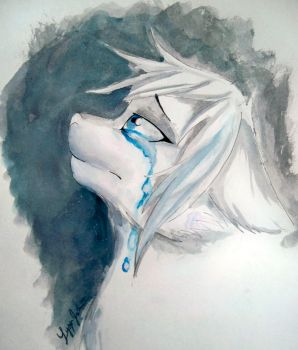 These Tears I Cry in Shadows by PencilFairy