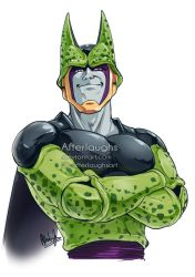 Perfect Cell gift art for DaimoArt by Afterlaughs