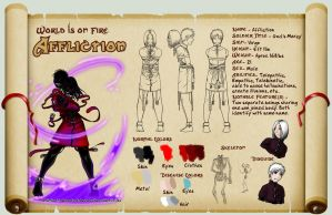 Reference Sheet - Affliction by Chaos--Child