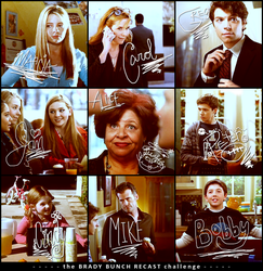 Brady Bunch Recast by brookierulestheworld