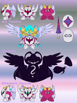 Ref. Sheet: Sir. Galacta-Knight by Wolfwrathknight