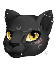 Chibi Head 3 - Shiva by Lyrizel