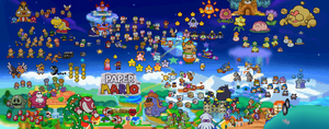 10 years of Paper Mario by PxlCobit