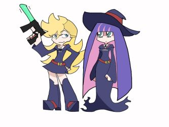 PSG x Little Witch Academia pt. 2 by rebeldollart