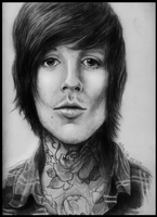 Oli Sykes by THE-WEATHERED-RAVEN