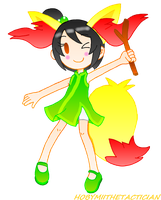 CHIBI LILY AS BRAIXEN by HOBYGRENOUSSE