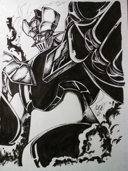 Mazinga Commission by Ccamang