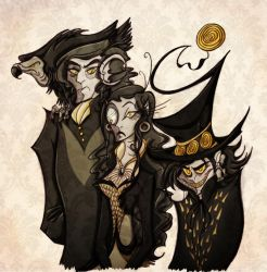 The Vultures by roseandthorn