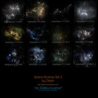 Galactic Space Brushes Set 3 by drkzin