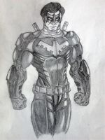 NightWing - Dick Grayson by jay911sf