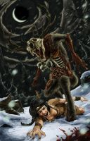 Who What Where Wendigo by LukeDenby