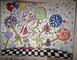 Konfetka and Junebug in Lollipop Confetti by 17cherry