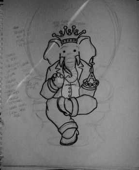 Babar the Hindu King by jEANd-mICHEL