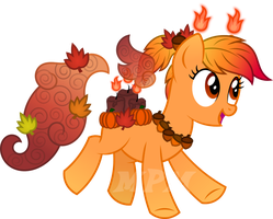 Scented Pony OC: Amber Woods by MyPaintedMelody