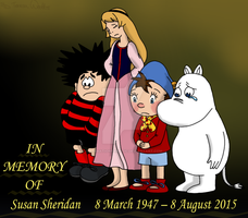 In Memory Of Susan Sheridan by AnimationFanatic