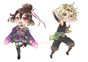 Anime Mascot Contest (chibi) by AMP-97