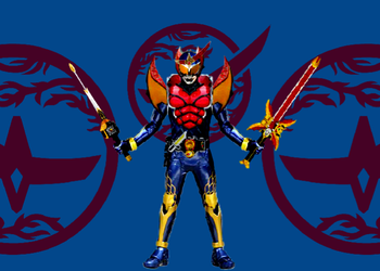 Kamen Rider Creation: Bujin Gaim Red Fang arms by KoreOfEmAll