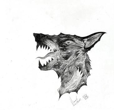 WolfHead by VincentLentzsch