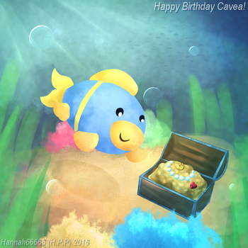 Happy Birthday Cavea~ by Hannah66665