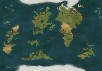 Unfinished map by BasakTinli