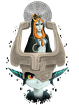 Twilight Princess Tribute - Midna by Meeshell-Art