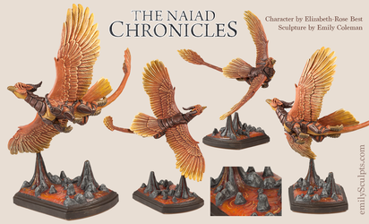 The Naiad Chronicles : Phoenix by emilySculpts