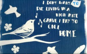 Cyanotype bird. by loxymoxy
