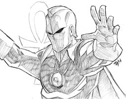 Dr Fate $10 commission by JoeMDavis