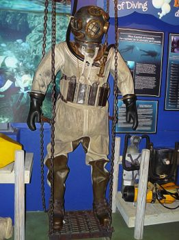 Antique Diving Suite by PrincessInHeaven