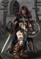 The She-Devil with a Sword, Red Sonja by Xanditz