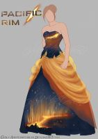 Outfit Adopt (Open) - Pacific Rim Breach Dress by Girly-Adoptables