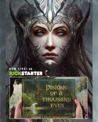 Visions of a Thousand Eyes // Kickstarter by Dibujante-nocturno