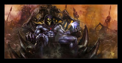 Skeletor by Dave-Wilkins