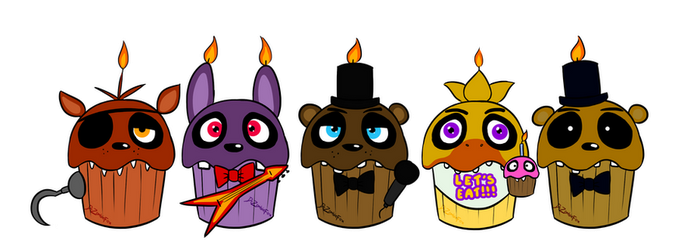 Five Nights at Cupcake's by DrFoxes