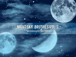 Night Sky Brushes Vol. 3 by xara24