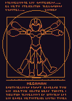 Octobit Day 5 - Dr.Light Mega-Man by Paulo60379