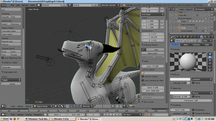 3D Dragon WIP 1 by Nero1024