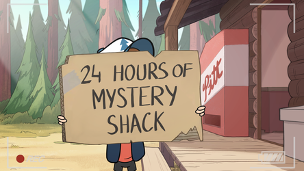 24h of Mystery Shack by Lionheartcartoon