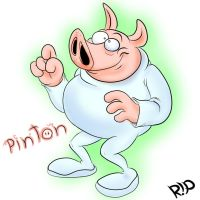 Pinton from futurePig by SeigneurRuei