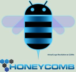 Android Honeycomb Logo HD .PNG by zandog